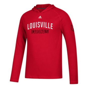 Men's adidas Louisville Cardinals Lineup Ultimate Hoodie