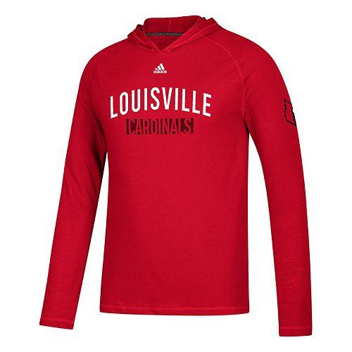 Men's adidas Louisville Cardinals Lineup Ultimate Hoodie