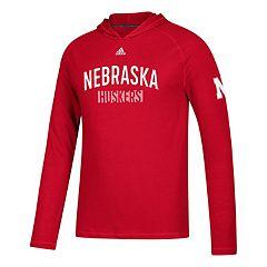 Men's adidas Nebraska Cornhuskers Lineup Ultimate Hoodie