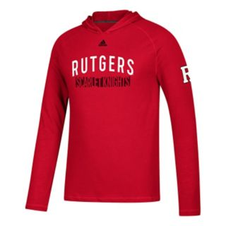 Men's adidas Rutgers Scarlet Knights Lineup Ultimate Hoodie
