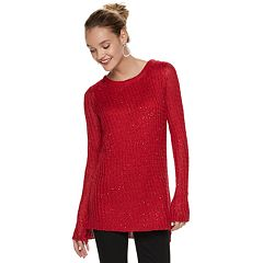 Women's Apt. 9® Sequin Mock-Layer Tunic