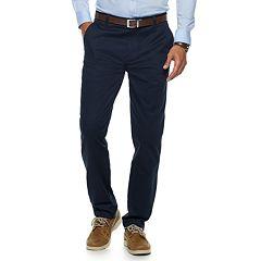 Men's Chaps Flat-Front Pants