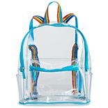 Kids Clear & Rainbow Backpack