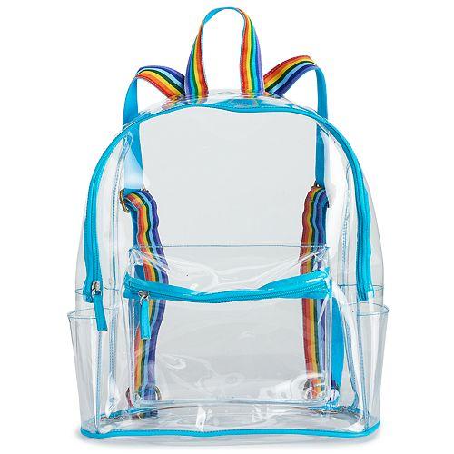 Kids Clear & Rainbow Backpack