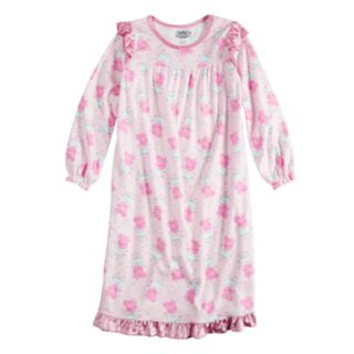 Girls 4-12 Peppa Pig Ankle Length Nightgown
