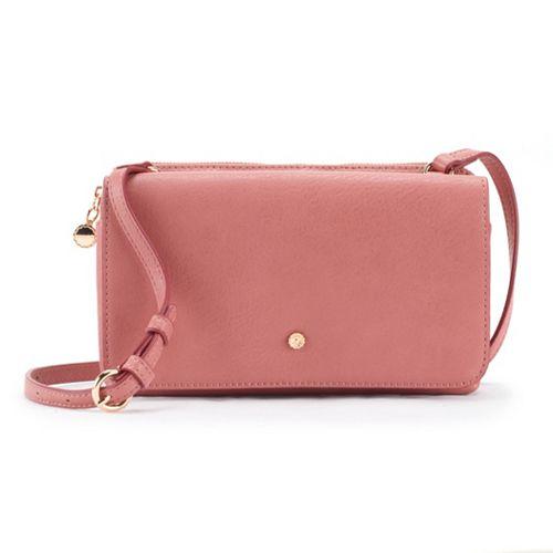 LC Lauren Conrad Flap Crossbody Bag