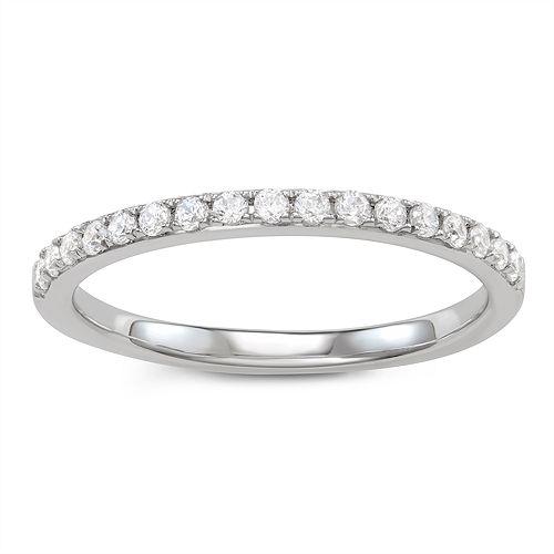 Simply Vera Vera Wang 14k Gold 1/4 Carat T.W. Diamond Ring
