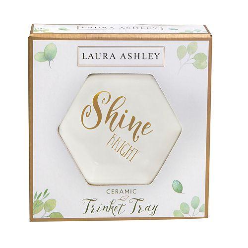 """Laura Ashley Lifestyles """"Shine Bright"""" Trinket Tray"""