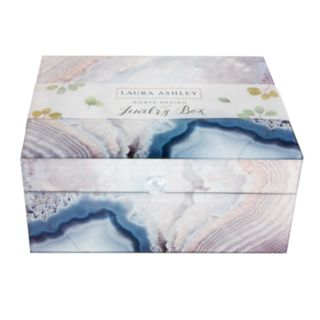 Laura Ashley Lifestyles Artificial Agate Jewelry Box