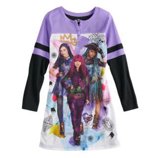 Disney's Descendants Girls 6-14 Dorm Nightgown