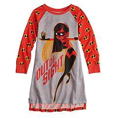 Disney / Pixar's The Incredibles Violet Girls 4-10 Dorm Nightgown