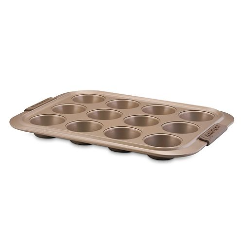 Anolon Advanced Bronze Nonstick 12-Cup Muffin Pan