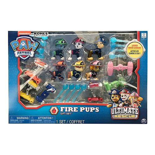 Paw Patrol Ultimate Rescue Fire Pups Gift Set