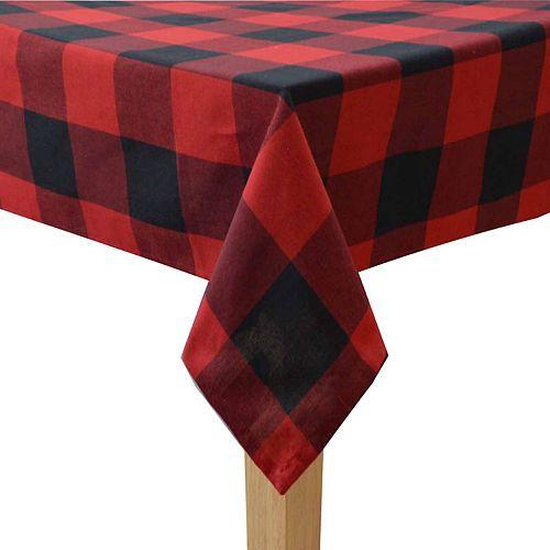 St. Nicholas Square® Buffalo Check Tablecloth
