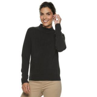 Petite Napa Valley Mockneck Sweater