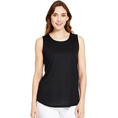 Women's IZOD Speckled High-Low Tank
