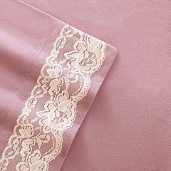 Micro Flannel® Victoria Lace Sheet Set