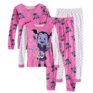 Disney's Vampirina Vee Girls 4-8 Tops & Bottoms Pajama Set