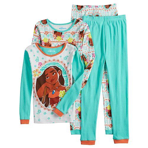 "Disney Moana /""Stars/"" Girl/'s Pyjamas"