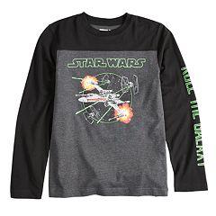 Boys 8-20 Star Wars X-Wing Starfighter Tee