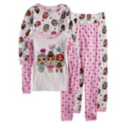 Girls 4-10 L.O.L. Surprise! Tops & Bottoms Pajama Set
