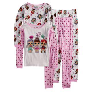 Girls 4-10 L.O.L. Surprise! Tops & Bottoms Pajama Set