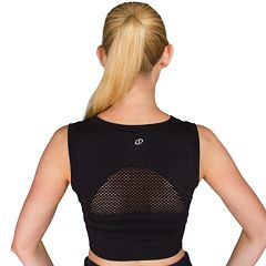 Spalding Ozone Seamless Crop Top Medium-Impact Sports Bra 1036-00