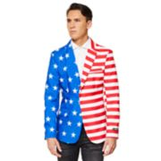 Men's American Flag Sport Coat