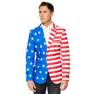 Men's American Flag Sport Coat