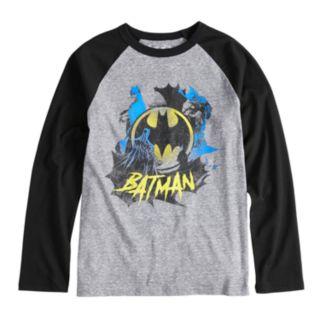 Boys 8-20  Batman Raglan Tee