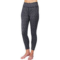 Women's Spalding Niagra Jacquard High-Waisted Ankle Leggings