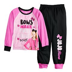 Girls 6-12 JoJo Siwa 'Bows Make Everything Better' Top & Bottoms Pajama Set