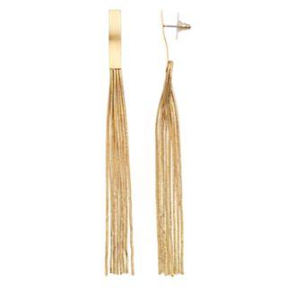 Jennifer Lopez Nickel Free Multi Chain Earrings