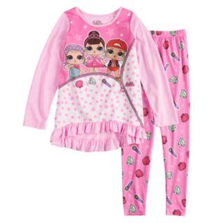 Girls 4-10 L.O.L. Surprise! Tunic Top & Bottoms Pajama Set