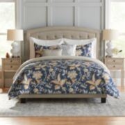 Croft & Barrow® Jacobean Cotton 5-piece Reversible Comforter Set