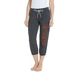 Women's Pitch Clemson Tigers Capri Lounge Pants