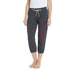 Women's Pitch Arkansas Razorbacks Capri Lounge Pants