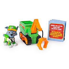 Paw Patrol Ultimate Rescue Rocky's Mini Crane Cart