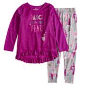 Disney's The Nutcracker and the Four Realms Girls 4-10 Top & Bottoms Pajama Set