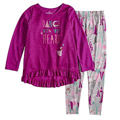 Disney's The Nutcracker and the Four Realms Girls 4-10 Top & Bottoms Pajama Set