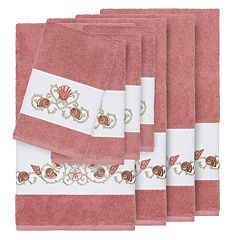Linum Home Textiles Bella 8-piece Embellished Bath Towel Set