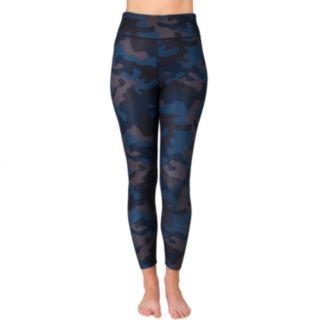 Women's Spalding Camo Print High-Waisted Leggings