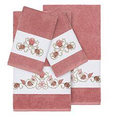 Linum Home Textiles Bella 4-piece Embellished Bath Towel Set