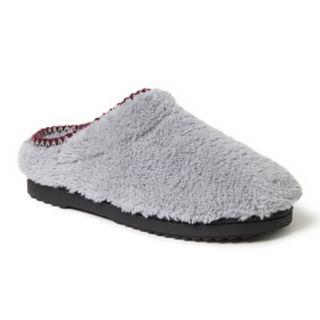 Women's Dearfoams Woven Trim Clog Slippers