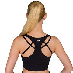 Spalding Helix Strappy Seamless Medium-Impact Sports Bra 1042-00
