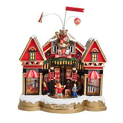 FAO Schwarz Animated Musical Toy Shop Christmas Table Decor