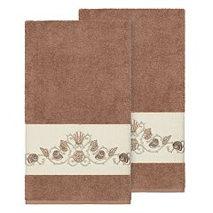 Linum Home Textiles Bella Embellished Bath Towel
