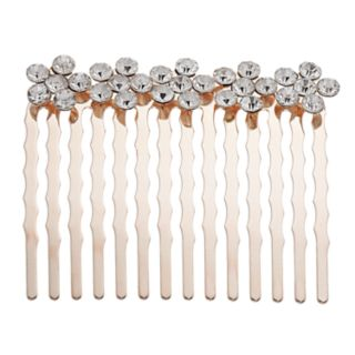 LC Lauren Conrad Simulated Crystal Cluster Hair Comb