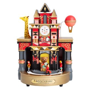 FAO Schwarz Animated Musical Toy Store Christmas Table Decor