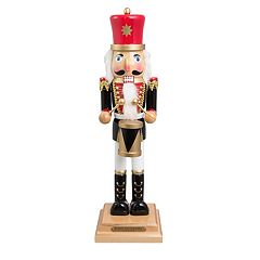 FAO Schwarz 20-in. Drummer Nutcracker Christmas Decor